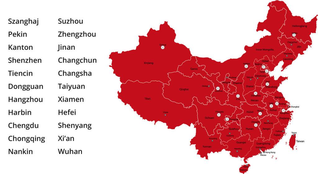 Bahntransport von China CHina Train Transport Szanghai Peking Kanton Shenzhen Tiencin Dongguan Hangzhou Harbin Chengdu Chongqing Nankin Suzhou Zhengzhou Jinan Changchun Changsha Taiyuan Xiamen Hefei Shenyang Xi'an Wuhan