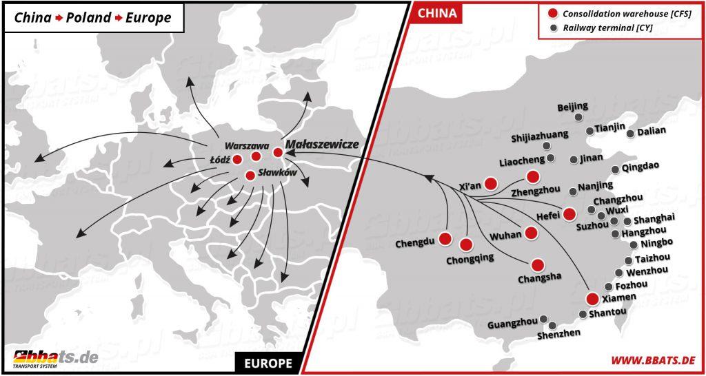 Containertransporte per Bahn - Neue Seidenstraße China drängt es nach Europa